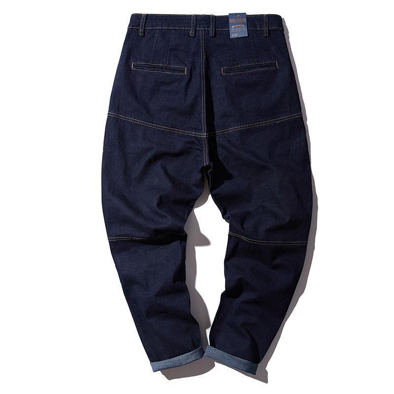 5086 Gros Denim Pour Jeans Hip Sarouel Vêtements Pantalon Portlotus Casual Hommes Hop Marque Baggy Pant Yp008 CBQerxodWE