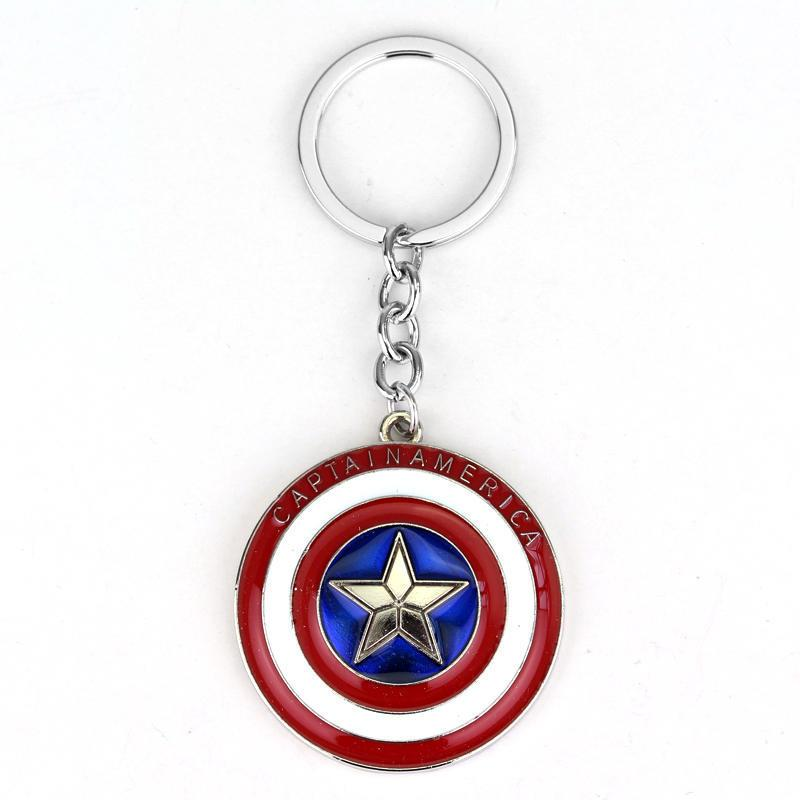 Movie Avengers Infinity War Character Doctor Strange Alloy crystal Keychain Action Figure Keyring Key Chain For MenBoy Gift