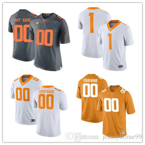 reputable site 5e53d 82bf2 Custom Tennessee Volunteers #6 Alvin Kamara 16 Peyton Manning 1 Jason  Witten 14 Eric Berry 11 Joshua Dobbs NCAA College Football Jerseys