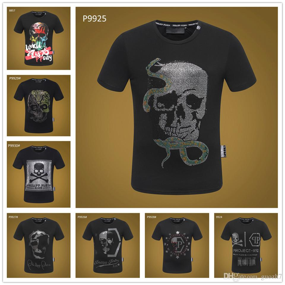 c22c9d3232d8 Roger T Shirt Skull And Crossbones Printing Men Tops Fashion ...