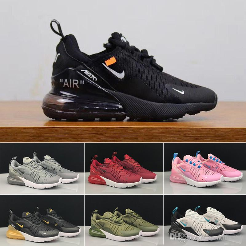 nike air max 270 27c airmax Alta calidad Parra Punch Photo Azul Niños Zapatos para correr Triple Blanco University Red Olive kid Volt Habanero Flair Sneakers JC-SE87L