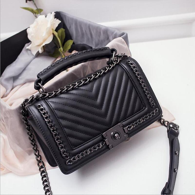061ba4e5f3ba Wholesale New Famous Designer Brand Shanel Bags Women Leather Handbag High  Quality Crossbody Bag For Women Messenger Bag Sac A Main Bols Reusable  Shopping ...