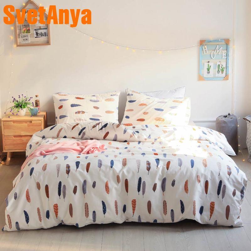 Helpful Bedding Set Duvet Cover Bed Sheet Pillowcase Bedlinen Bedclothes Flat Sheet Furniture