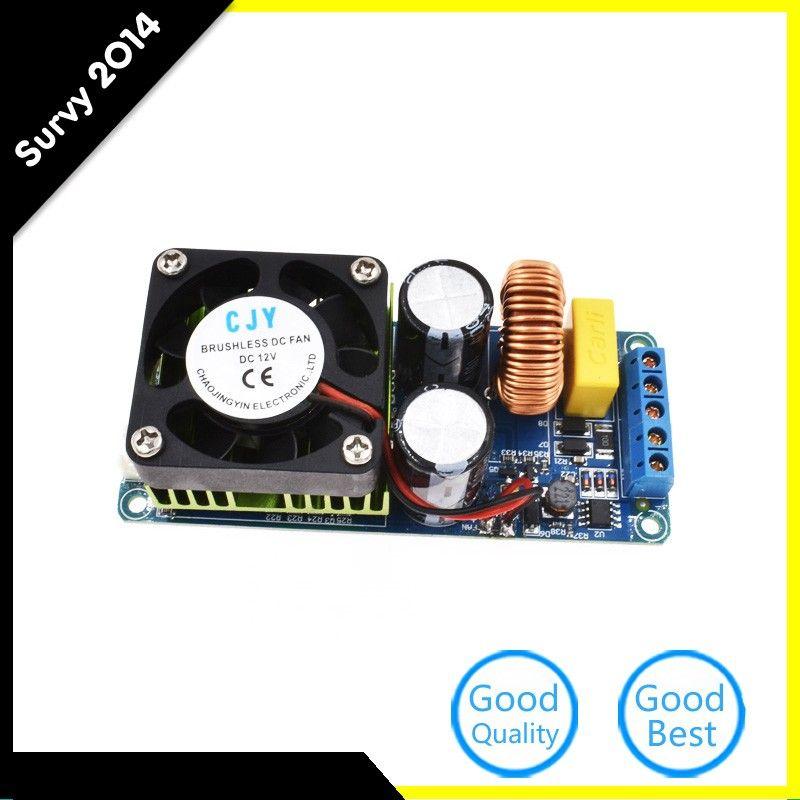 Freeshipping IRS2092S 500W Mono Channel Digital Amplifier Class D HIFI  Power Amp Board Single Track Monophonic Amplifier