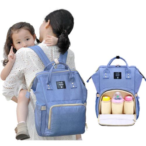Mummy package multifunction mother shoulder bag large capacity bag fashion shoulder bag waterproof upgraded version