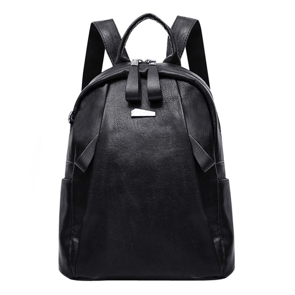 Modern Lady Fashion Women Girl Leather Backpack Travel Waterproof Rucksack  School Bag Streetwear Backpacks ZS Backpacks For Men Jansport Big Student  ... 6d62e07f07fe4