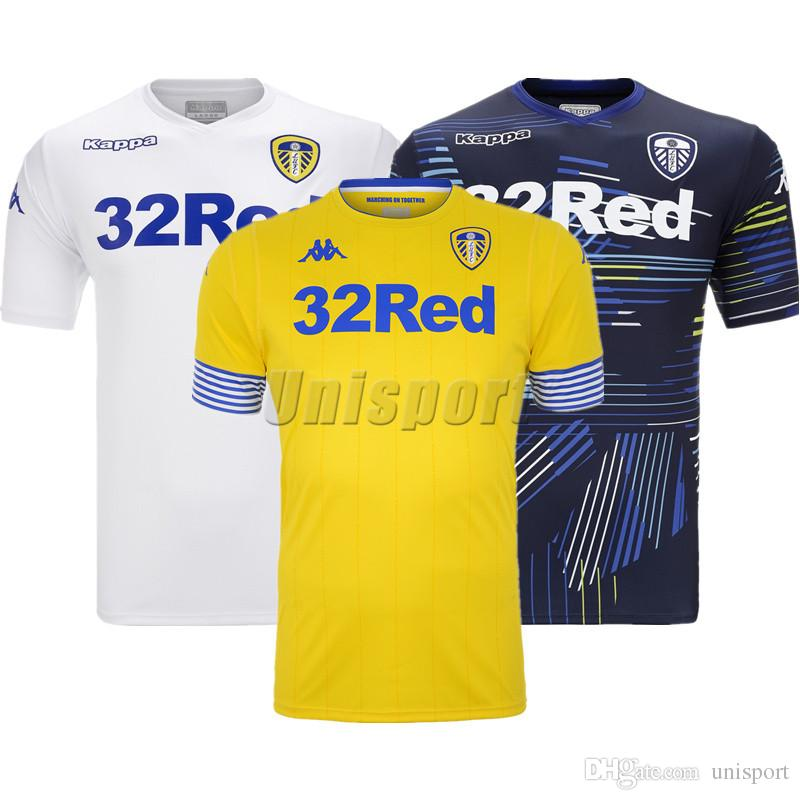 2019 2018 19 Leeds United Soccer Jerseys Leeds Futbol Camisetas Roofe  HERNANDEZ Football Camisa Shirt Kit Maillot From Unisport 1ee3ef21b3a73