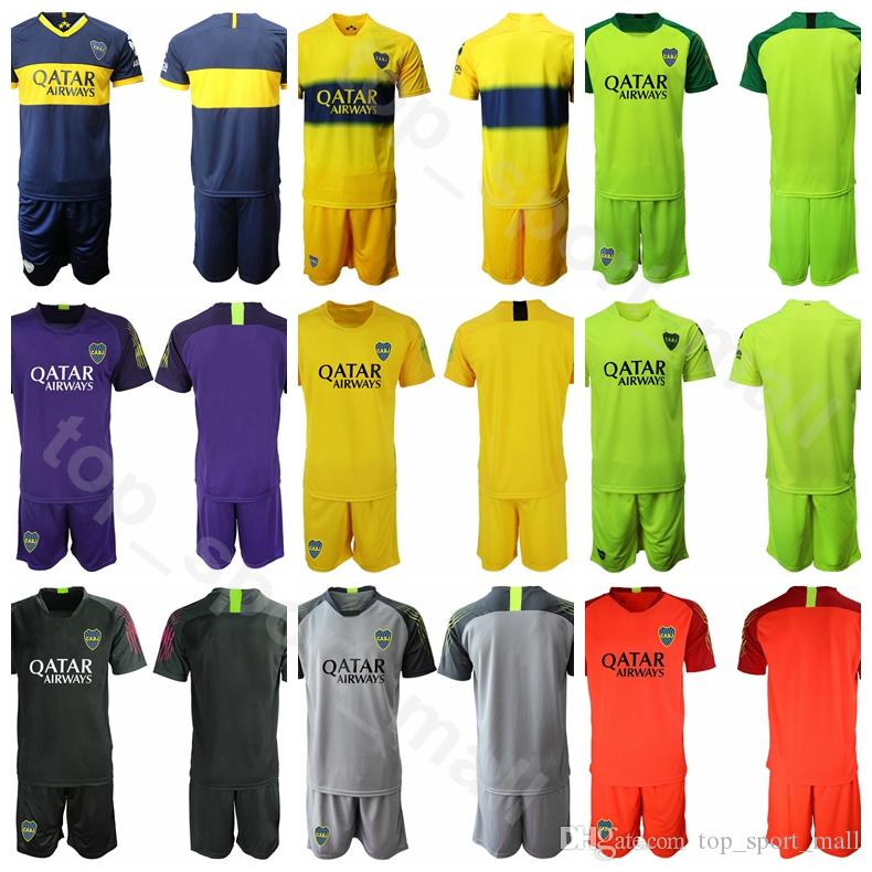 size 40 d5ffa 16a92 2019 2020 Goalkeeper GK Boca Juniors Goalie Soccer 12 Marcos Diaz Jersey  Set 28 Manuel Roffo 31 Esteban Andrada Football Shirt Kits Uniform