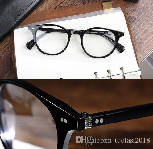 Vintage Eyeglass Frames OV5318 Men and Women Big Circular Round Sunglasses oculos de grau Prescription Eyewear Frame OV5318