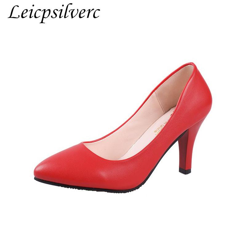 Designer Dress Shoes Promotional Products Spring And Autumn Season Fashion  New Pattern Sweet Root High Heeled Women S Pu Cheap Goods Loafer Shoes  Shoes Uk ... bdd764cd77
