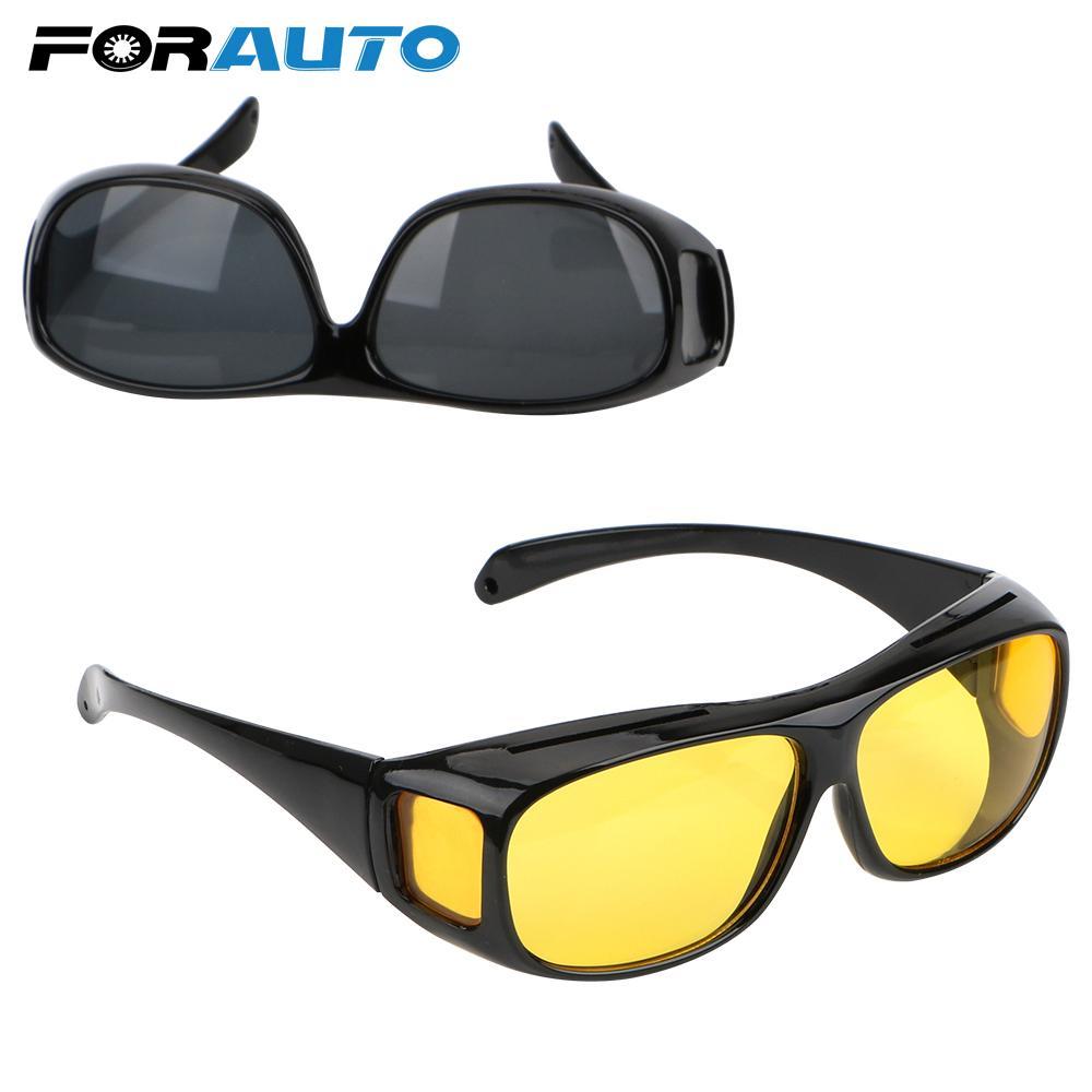 ad9dd31f50 Compre Visión Nocturna Conductor Gafas HD Visión Gafas De Sol Conducir  Lentes Amarillas Gafas Protección Oscura Sobre Envolver Gafas De Sol Gafas  ...