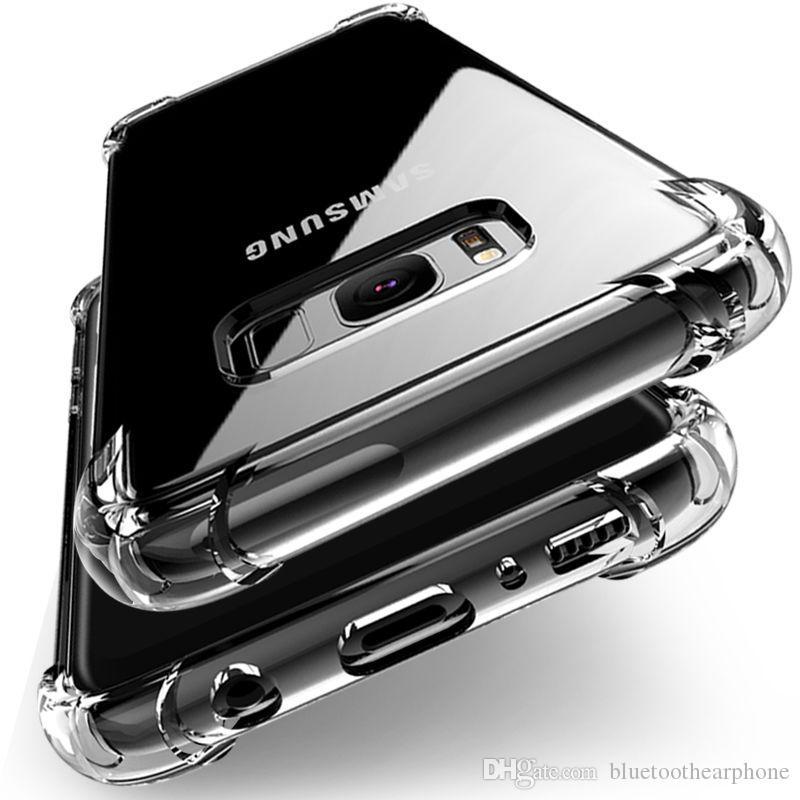 Stoßfest Durchsichtige Weiche Silikonhülle Für Samsung Galaxy S10 Plus Lite Samsung Galaxy A6 A8 J6 J8 J8 J8 J8 S7 S8 S9