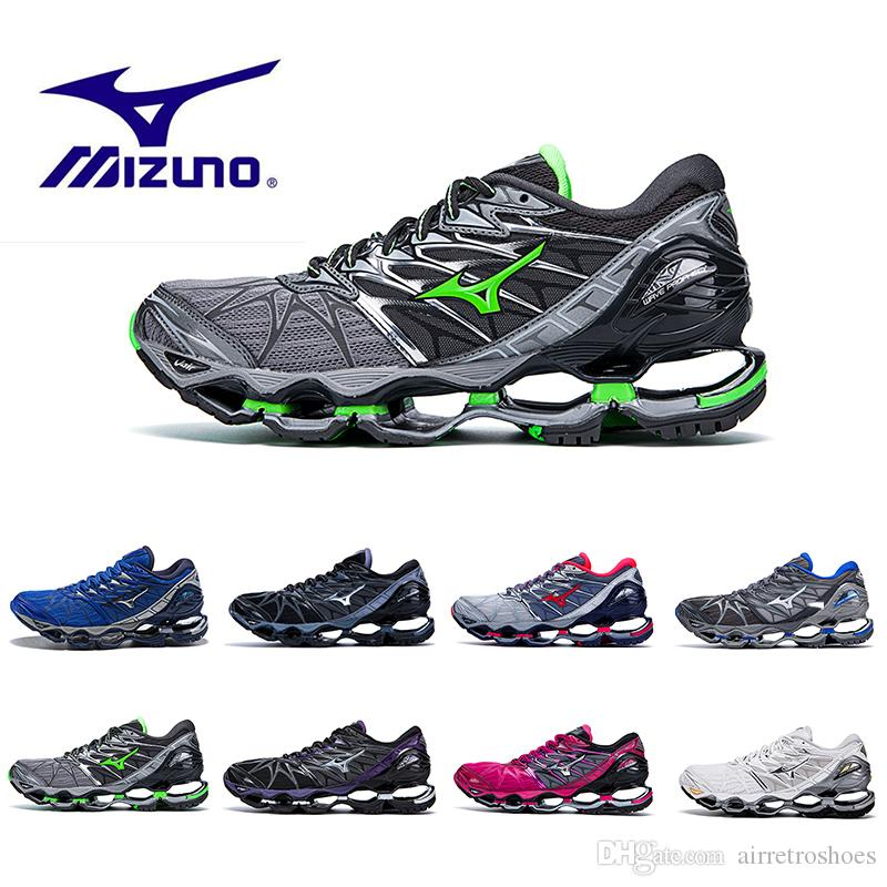 1c0c35e794c With Box Original MIZUNO WAVE Prophecy 7 Professional Mens Shoes Outdoor  Air Cushioning Sport Sneakers Men Weightlifting Shoes Size 40 45 Womens  Trail ...