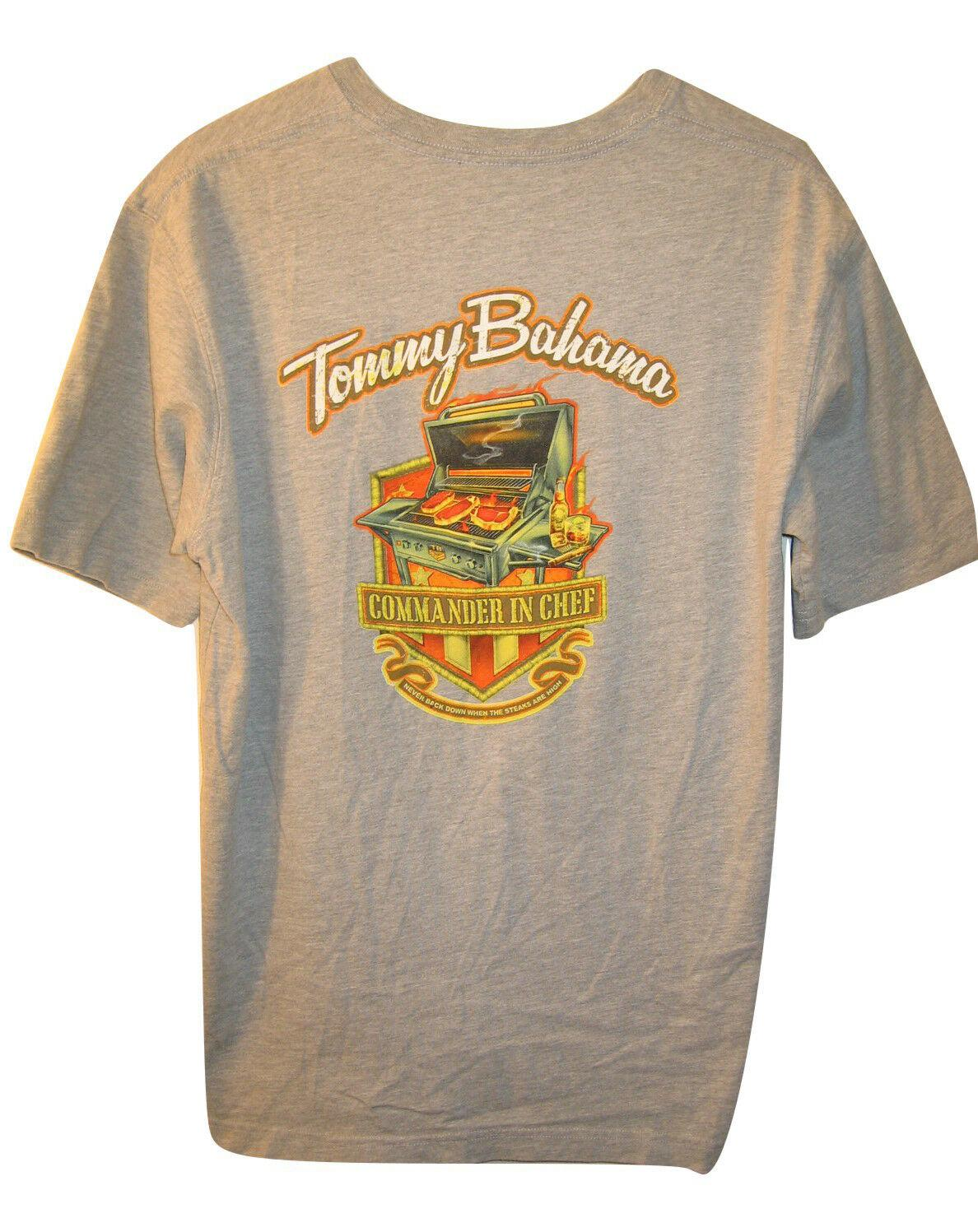d4d97119 TOMMY BAHAMA BBQ Grill COMMANDER IN CHEF T SHIRT Gray Short Sleeve Mens M  MediumFunny Unisex Tshirt T Shrt Fun T Shirt From Stylemixxuk, $12.96|  DHgate.Com