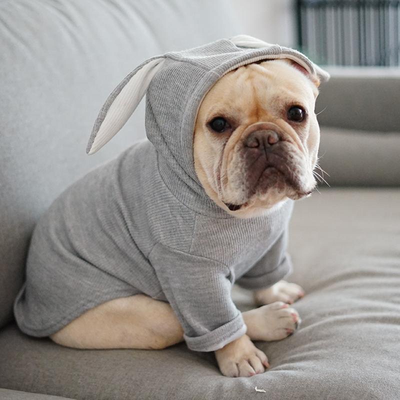 Küçük Hayvan Köpek Sıcak Kostüm Giyim XS-XXL İçin Sonbahar Kış Casual Pet Köpek Kedi Köpek Triko Hoodie Coat