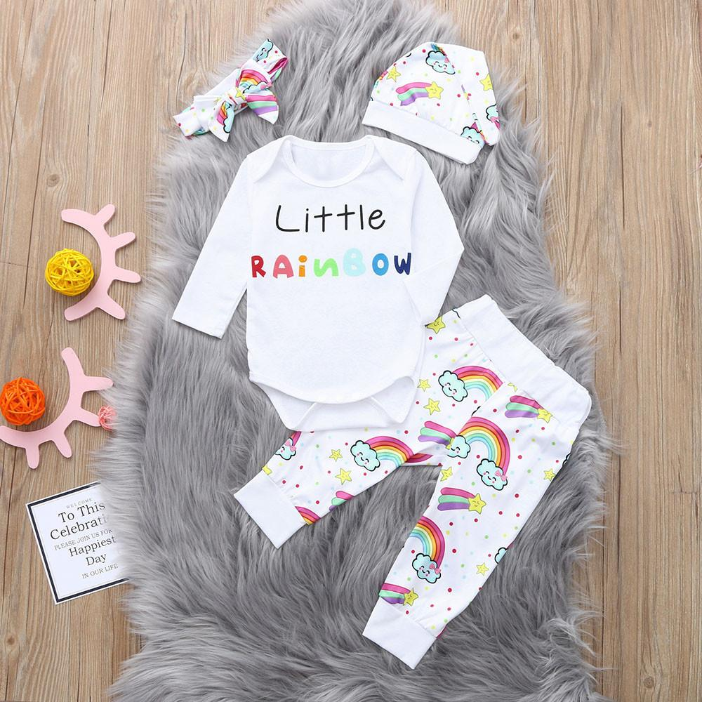 1dfeefec3 2019 Good Quality Fashion Baby Clothes Set Girl Boy Clothing Letter ...