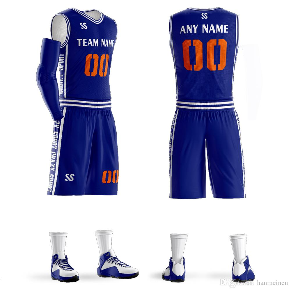 c713569768d 2019 Sublimation Custom Mens Youth Basketball Uniform 100% Polyester  Basketball Jersey From Hanmeinen, $23.36 | DHgate.Com