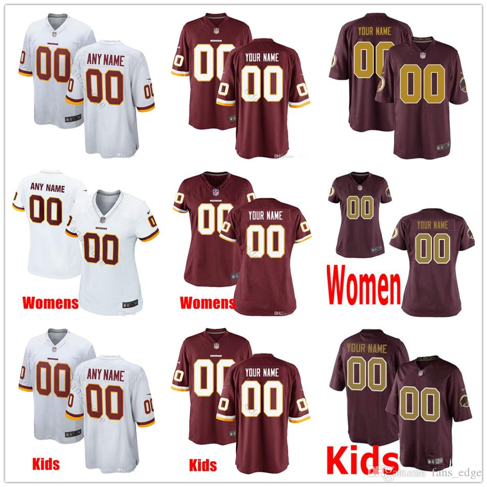 new arrival 81a73 51e65 Custom New Washington 25 Chris Thompson 18 Josh Doctson 29 Derrius Guice 86  Reed 24 Josh Norman Men Women Kid Youth Redskins Stitched Jersey