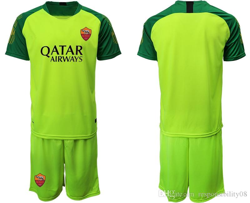 on sale 356a3 2de3f 1920 AS Roma Goalkeeper GK Goalie 2019 2020 Men Soccer 1 Robin Olsen Jersey  Set 83 Antonio Mirante Goalkeeper Football Shirt Kits Uniforme
