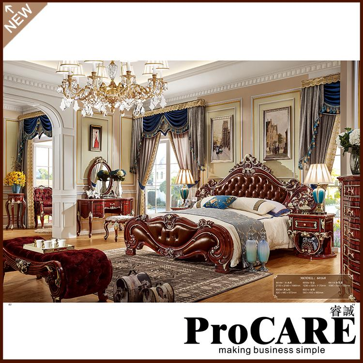 Amerikan Yatak Odasi Mobilya Masif Ahsap Yatak Odasi Takimi Kristal Kral Yatak