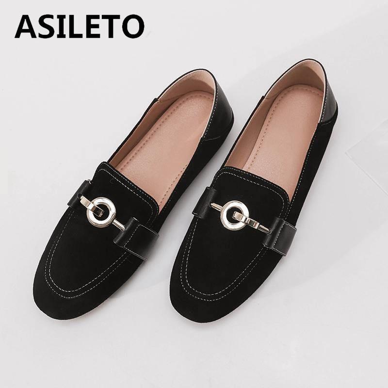 En Automne Femmes Asileto Mocassins Acheter Chaussures Cuir xTIqfn5w