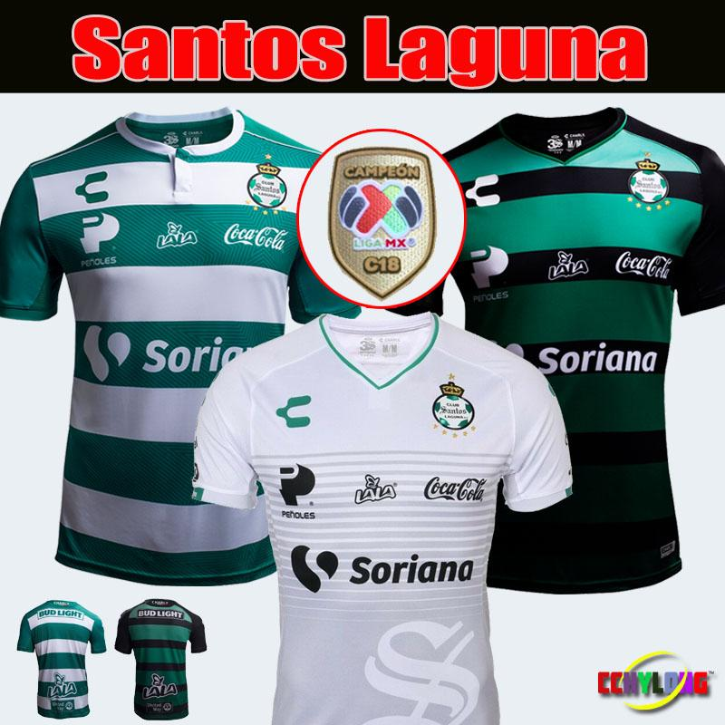 the best attitude dfbb1 3b4ec 2019 MEXICO CLUB CHARLY Laguna Soccer Jersey Third Home 18/19 LIGA MX Rivas  Lozano 2018 LEON Atlas Club de Cuervos football shirt
