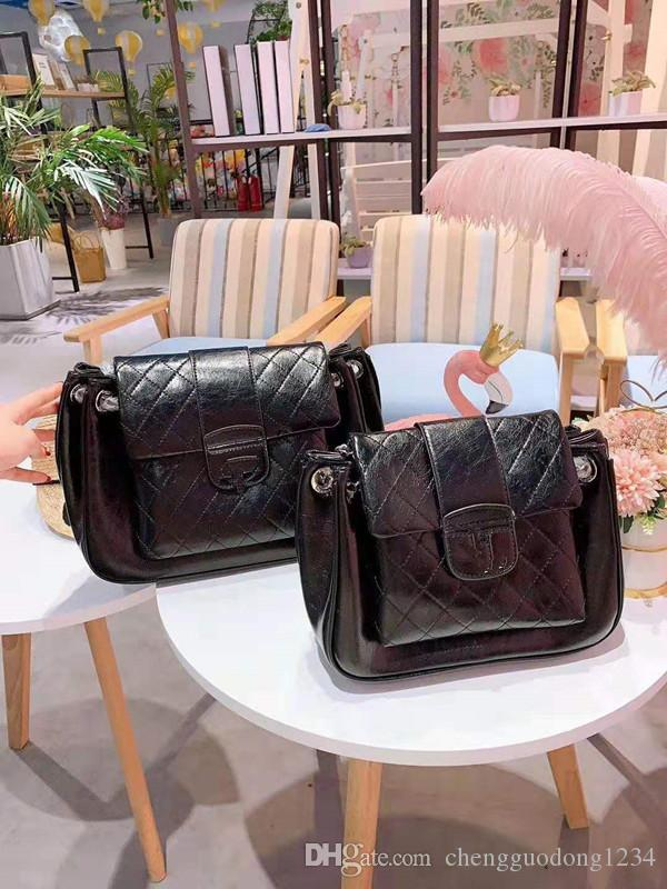 Package Female New Brim Ling, Chain Girls Women Shoulder Bags High-capacity Soft Leather Medieval Worn Designer Luxury Handbags shoulder bag