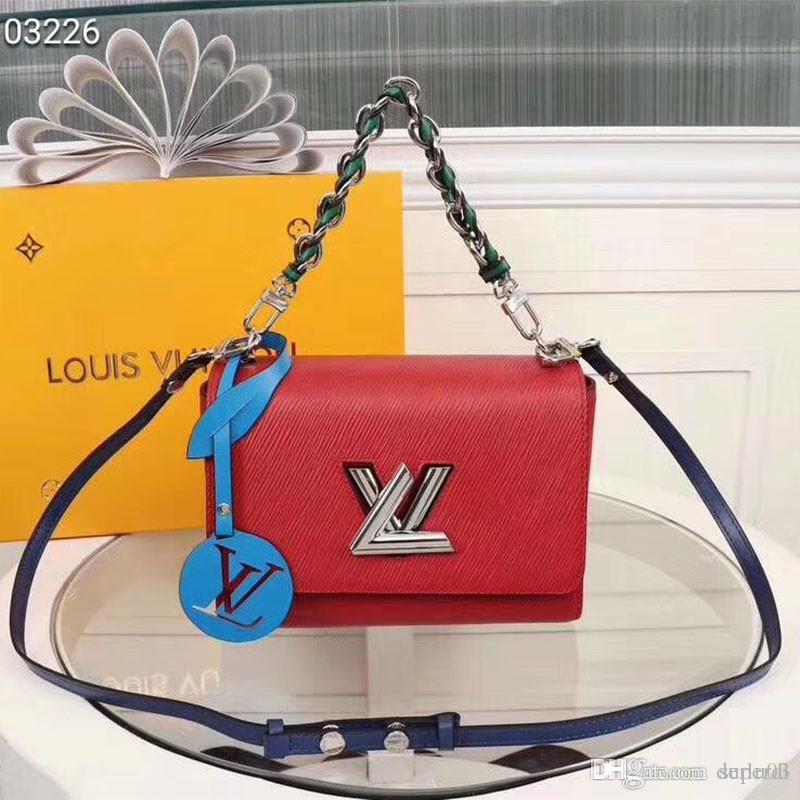 a1c6e65808e0 2018 Classic Le Boy Flap Bag Women's Plaid Chain Bag Ladies Luxury ...