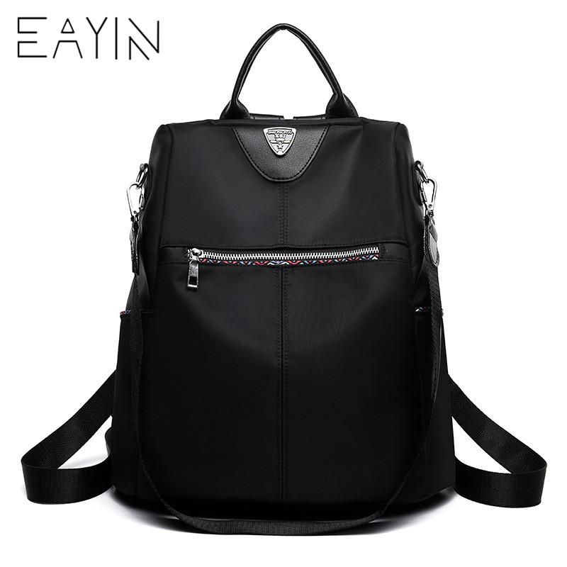 bb5abeeedb0 EAYIN Laptop Backpack Schoolbags For Teenager Girls Boys Women Backpack  Fashion Youth Korean Style Shoulder Bag Travel Back Bag Hiking Backpack  Swiss Gear ...