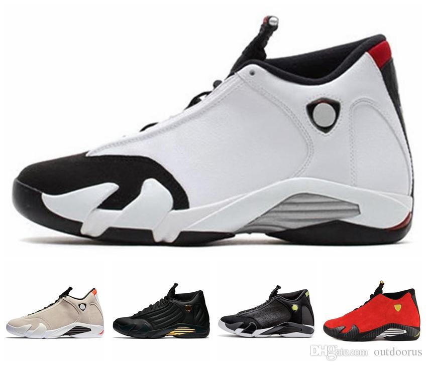 0daaad341f6e27 2019 14 Last Shot 14s DESERT SAND Mens Basketball Shoes 14s BLACK ...