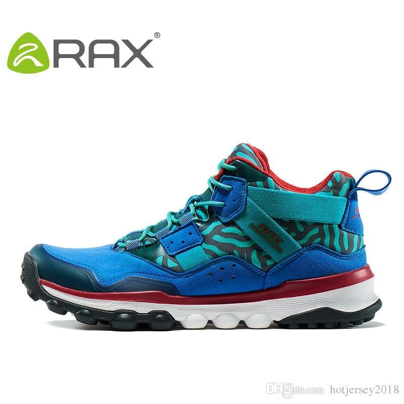 42c9d7e9bb0cdd 2019 RAX Men S Hiking Shoes Surface Waterproof Hiking Boots For Men Women  Outdoor Breathable Walking Shoes For Men Winter Boots  325531 From  Hotjersey2018