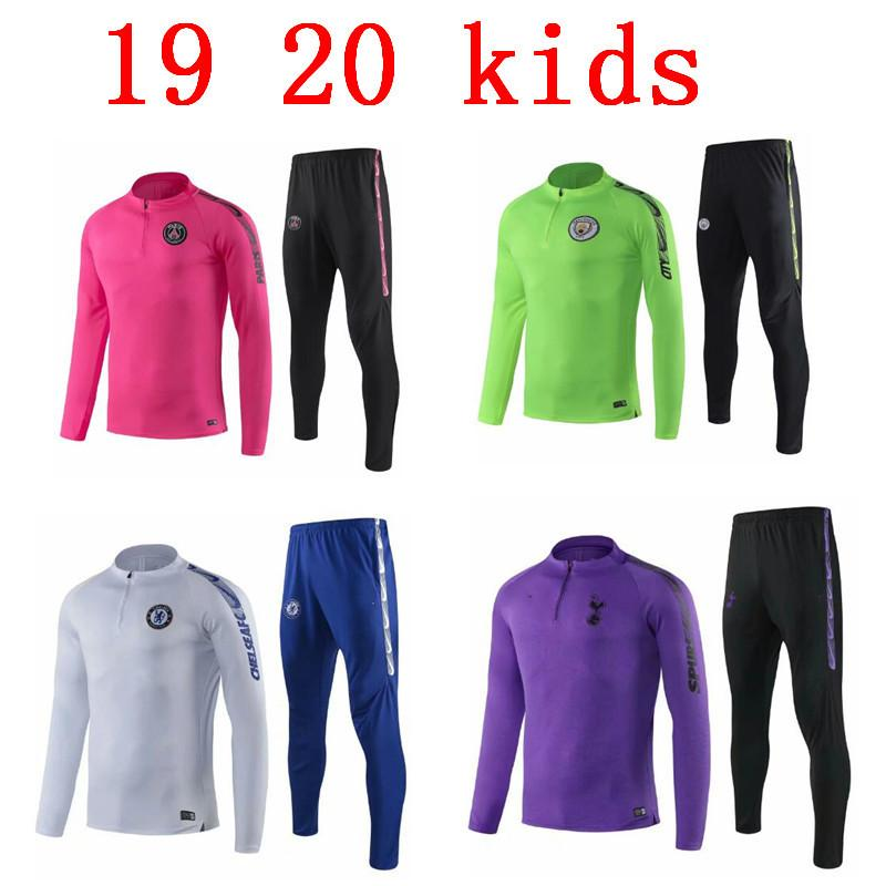 ea7f886ff41 2019 Kids DI MARIA CAVANI Paris Training Suit Soccer Jerseys Kit 19 20 Boys  Psg Football Jacket Tracksuit Set From Wr123456789