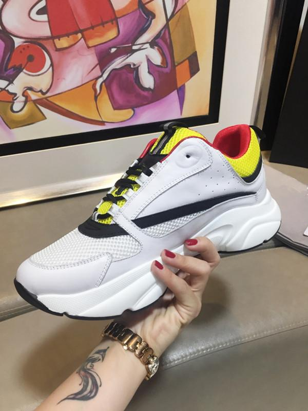 2019 Mens Womens Casual Shoes Triple S White Black Green Rainbow Brand Designer Trainers Sneakers Dad Shoes t13