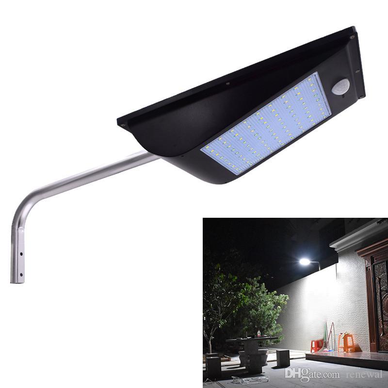 High solar Sensor integrated street 81 Power Outdoor IP65 Lumen light Lamps Quality 1000 Motion Solar Leds 34Rq5AjL