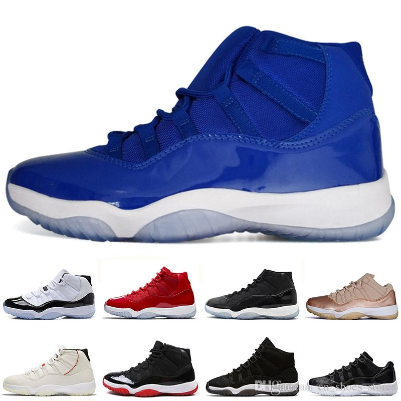 competitive price 6e3bd 33c18 High Legeng Blue 11 11s Bred mens Basketball Shoes High 72-10 Low Infrared  23 Cool Grey men Sport Sneakers trainers designer size US5.5-13