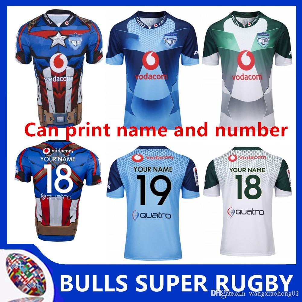 cd93f06c96e 2019 BULLS 2019 MARVEL SUPER RUGBY JERSEY 2019 New Super Rugby South ...