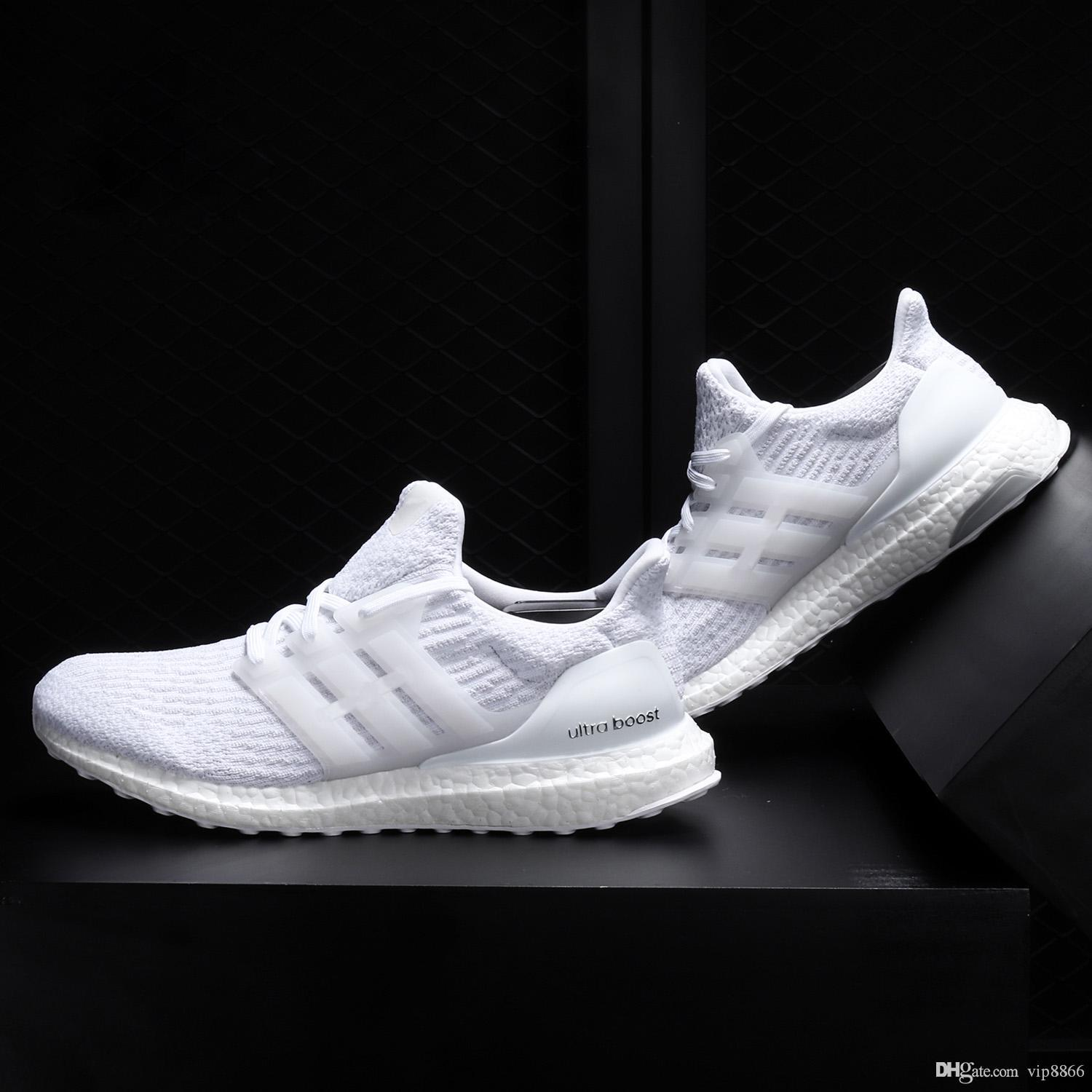 fdce314af48ab Trainers Ultra Boost 3.0 4.0 Triple White Presto Primeknit Women Running  Shoe Designer Ultraboost Sneakers Sports Shoes For Men Size 13 Mens Running  Shoe ...