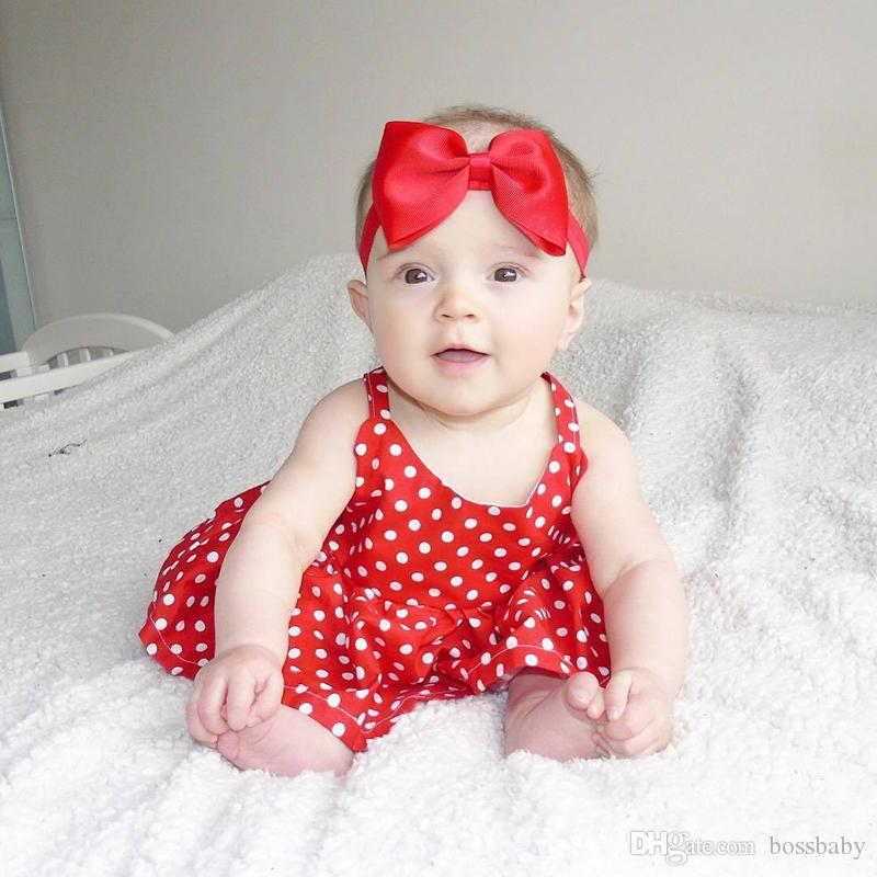 8d90a0adb 2019 Baby Girl Vest Dress Kids Designer Clothes Girls Newborn Baby ...