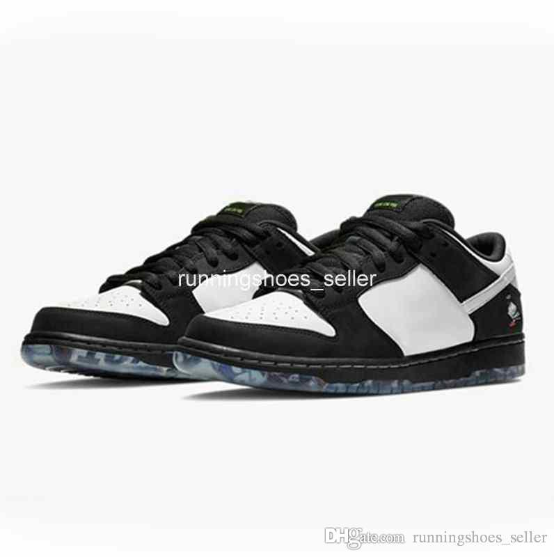 2019 Jeff Staple X SB Dunk Low Panda Pigeon 3.0 Pro OG QS Mens Womens  Skateboard Shoes Black Green BV1310 013 Designer Sneakers36 45 UK 2019 From  ... 12ea8ae231