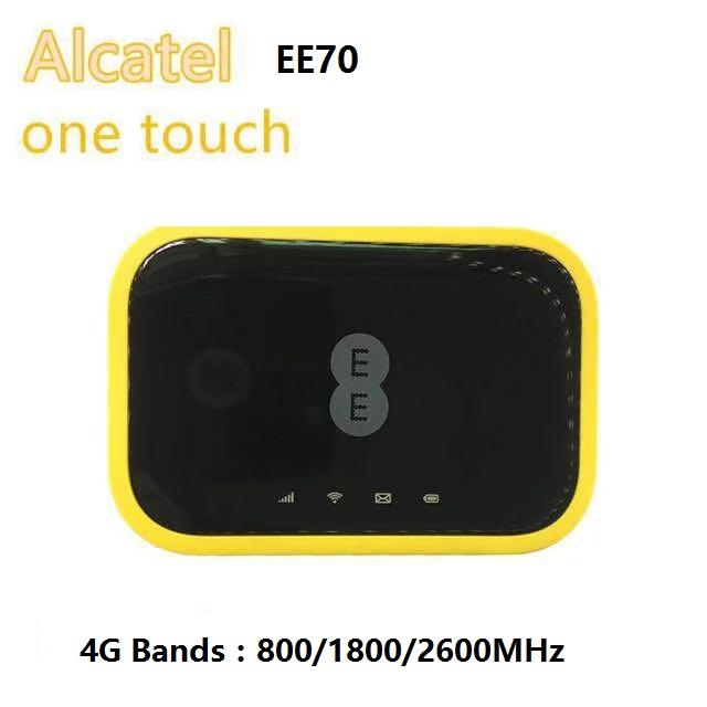 New Alcatel EE70 Cat 12 600Mbps Portable 4G LTE Mobile WiFi Hotspot Modem  4G LTE With Sim Card Slot