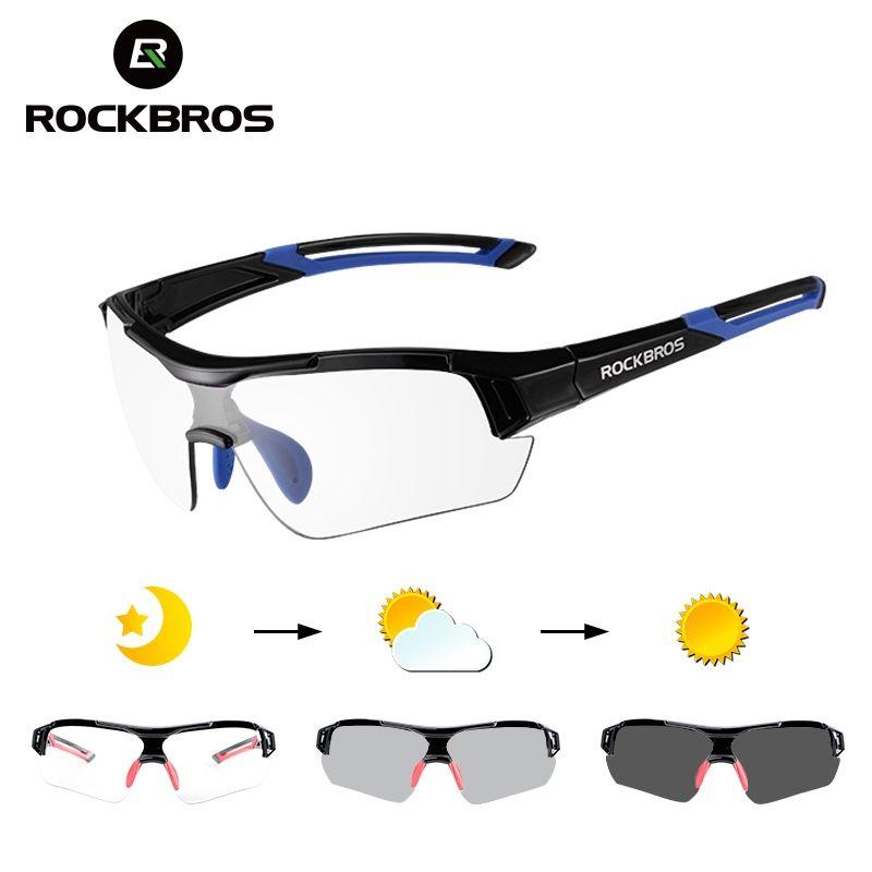 83e9762b50 2019 ROCKBROS Photochromic Cycling Sunglasses Eyewear UV400 Polarized MTB  Road Bicycle Goggles Women Men Outdoor Sports Bike Glasses  123497 From  Feiteng003 ...
