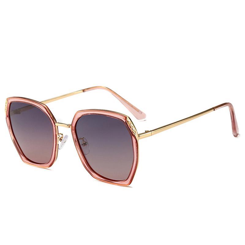 d406d60d4d 2019 Square Gradient Sunglasses Luxury Women Brand Full Frame ...