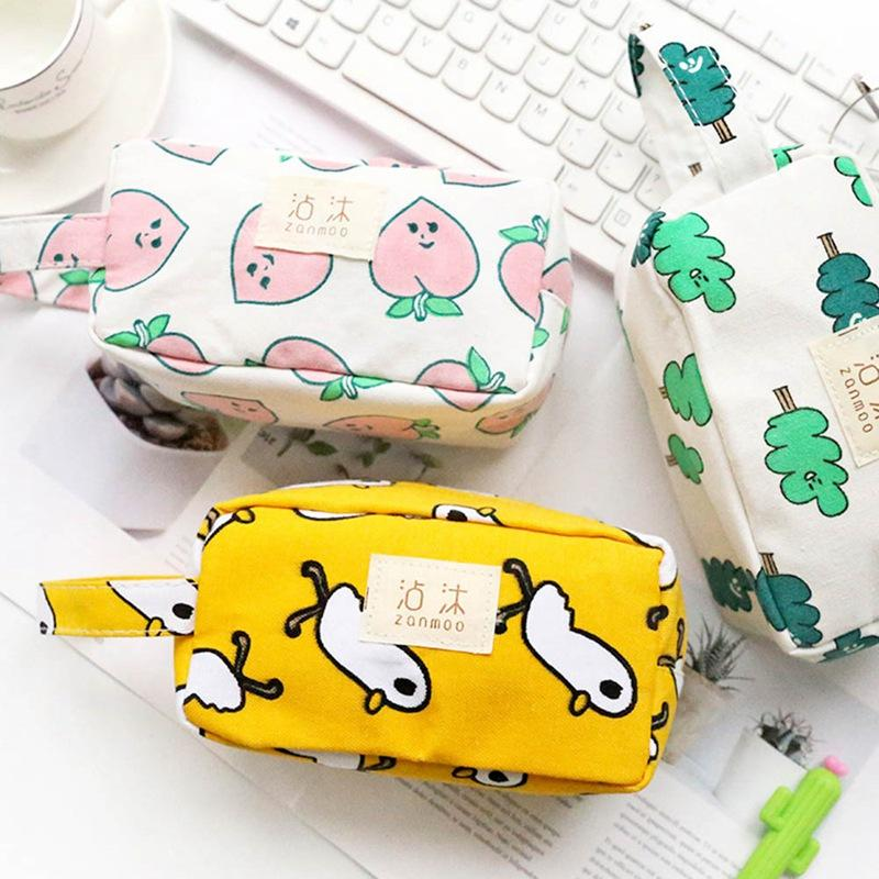 Cute Large Capacity Pencil Case for girls Kawaii school pen bag box stationery pouch kids gift Office school Supplies Zakka