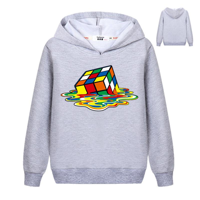 The Big Bang Theory Print Stylish Design Cube Pullover Hoodie Casual Cool Sweatshirts Student Tracksuit Clothes for Girls