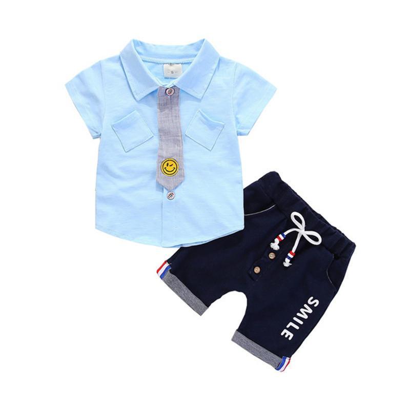 ee5d2aac9646 Good Quality Baby Boy Clothes Set 2019 Hotsale Infant Boys Summer ...