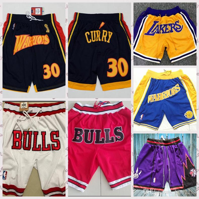 e5d1a108326 2019 Just Don Lakers Golden State Mesh Warriors Shorts Men Women Street  Basketball Pants Summer Casual Loose Sport Short Pants From Goodshirt04