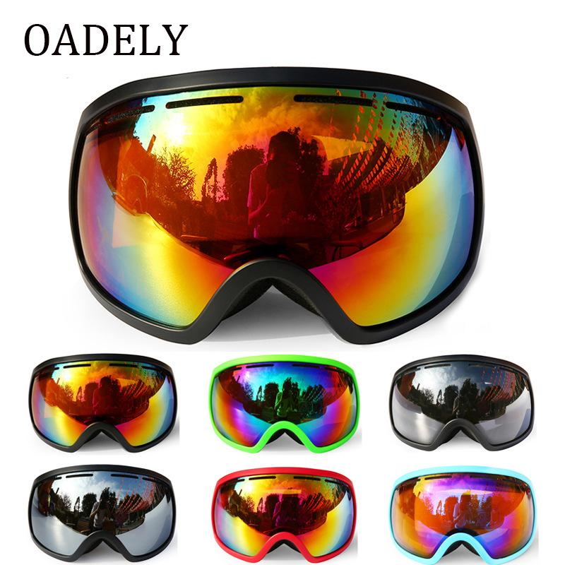 8bbe735d608 New 2019 Men Women Ski Goggles Double Layers Anti-fog Skiing Snowboard  Glasses Mask Snow Goggles Snowmobile Winter Online with  45.51 Piece on  Cfgs s Store ...