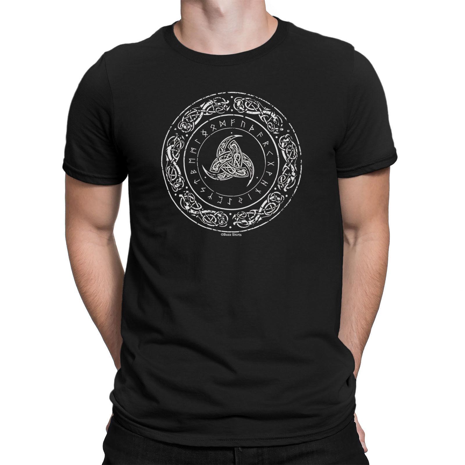 55252da5a ODINS HORN SYMBOL Mens Viking T Shirt Vikings Thor Ragnar Nordic Mythology  Top Funny Unisex Casual Tshirt Top Men Shirts T Shirt Online From  Tshirtdoctor
