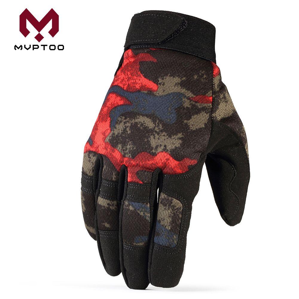 L XL y XXL Guantes de carreras de motocross para hombres y mujeres; guantes deportivos con dedos completos en tallas S M