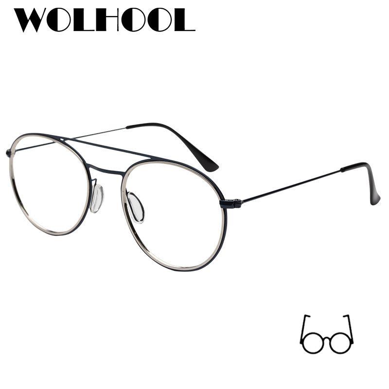 2019 2019 New Brand Designer Round Glasses Frames Women Spectacle ... fad60bc635e